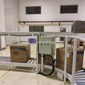 Customized Aluminum Gravity Roller Conveyor System